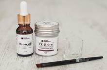 Brow Oil, натуральное масло для бровей и ресниц