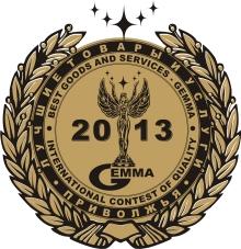 VETROV STUDIO награжден золотой медалью ГЕММА