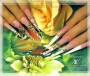 Мастер-класс: «Абстрактная акварель», студия ногтевого дизайна «Эстетика»